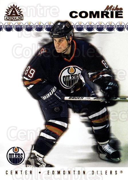 2001-02 Adrenaline #74 Mike Comrie<br/>5 In Stock - $1.00 each - <a href=https://centericecollectibles.foxycart.com/cart?name=2001-02%20Adrenaline%20%2374%20Mike%20Comrie...&quantity_max=5&price=$1.00&code=196648 class=foxycart> Buy it now! </a>