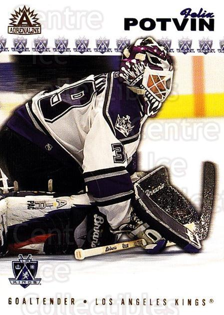 2001-02 Adrenaline #88 Felix Potvin<br/>4 In Stock - $1.00 each - <a href=https://centericecollectibles.foxycart.com/cart?name=2001-02%20Adrenaline%20%2388%20Felix%20Potvin...&quantity_max=4&price=$1.00&code=196662 class=foxycart> Buy it now! </a>