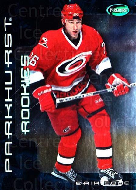 2001-02 Parkhurst #308 Erik Cole<br/>7 In Stock - $2.00 each - <a href=https://centericecollectibles.foxycart.com/cart?name=2001-02%20Parkhurst%20%23308%20Erik%20Cole...&quantity_max=7&price=$2.00&code=196700 class=foxycart> Buy it now! </a>