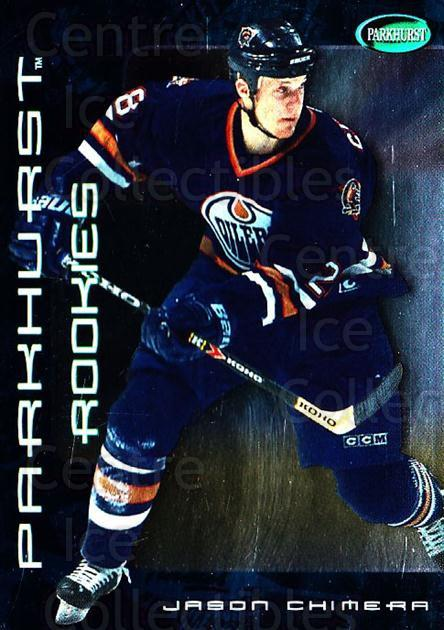 2001-02 Parkhurst #315 Jason Chimera<br/>7 In Stock - $2.00 each - <a href=https://centericecollectibles.foxycart.com/cart?name=2001-02%20Parkhurst%20%23315%20Jason%20Chimera...&quantity_max=7&price=$2.00&code=196706 class=foxycart> Buy it now! </a>
