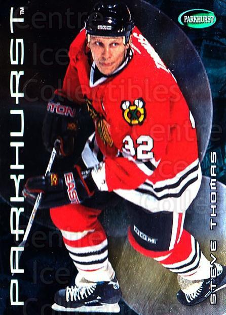 2001-02 Parkhurst #372 Steve Thomas<br/>5 In Stock - $1.00 each - <a href=https://centericecollectibles.foxycart.com/cart?name=2001-02%20Parkhurst%20%23372%20Steve%20Thomas...&quantity_max=5&price=$1.00&code=196756 class=foxycart> Buy it now! </a>