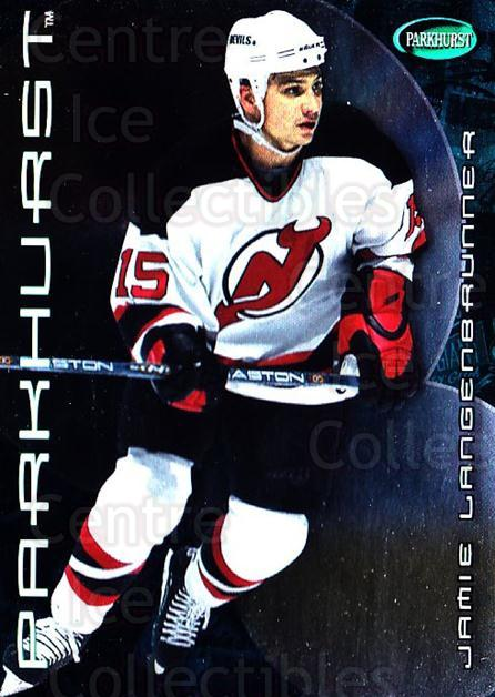 2001-02 Parkhurst #385 Jamie Langenbrunner<br/>6 In Stock - $1.00 each - <a href=https://centericecollectibles.foxycart.com/cart?name=2001-02%20Parkhurst%20%23385%20Jamie%20Langenbru...&quantity_max=6&price=$1.00&code=196769 class=foxycart> Buy it now! </a>