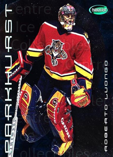 2001-02 Parkhurst #43 Roberto Luongo<br/>6 In Stock - $2.00 each - <a href=https://centericecollectibles.foxycart.com/cart?name=2001-02%20Parkhurst%20%2343%20Roberto%20Luongo...&quantity_max=6&price=$2.00&code=196788 class=foxycart> Buy it now! </a>