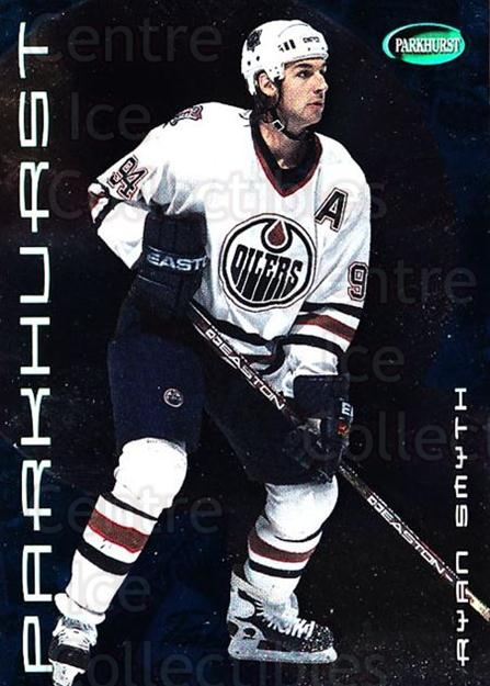 2001-02 Parkhurst #49 Ryan Smyth<br/>7 In Stock - $1.00 each - <a href=https://centericecollectibles.foxycart.com/cart?name=2001-02%20Parkhurst%20%2349%20Ryan%20Smyth...&quantity_max=7&price=$1.00&code=196792 class=foxycart> Buy it now! </a>