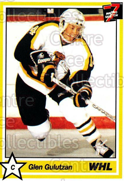 1990-91 7th Inning Sketch WHL #222 Glen Gulutzan<br/>1 In Stock - $1.00 each - <a href=https://centericecollectibles.foxycart.com/cart?name=1990-91%207th%20Inning%20Sketch%20WHL%20%23222%20Glen%20Gulutzan...&quantity_max=1&price=$1.00&code=19679 class=foxycart> Buy it now! </a>