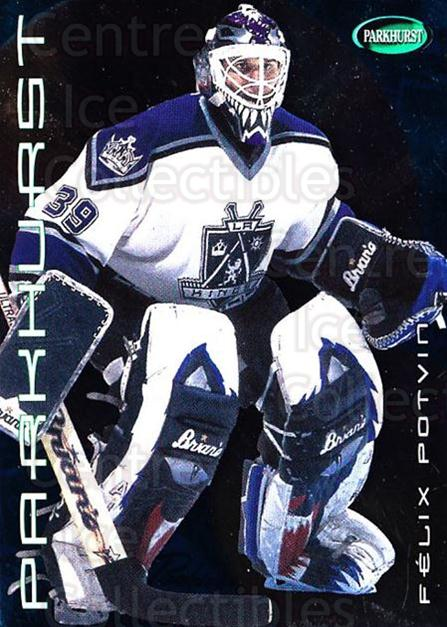 2001-02 Parkhurst #59 Felix Potvin<br/>6 In Stock - $1.00 each - <a href=https://centericecollectibles.foxycart.com/cart?name=2001-02%20Parkhurst%20%2359%20Felix%20Potvin...&quantity_max=6&price=$1.00&code=196802 class=foxycart> Buy it now! </a>