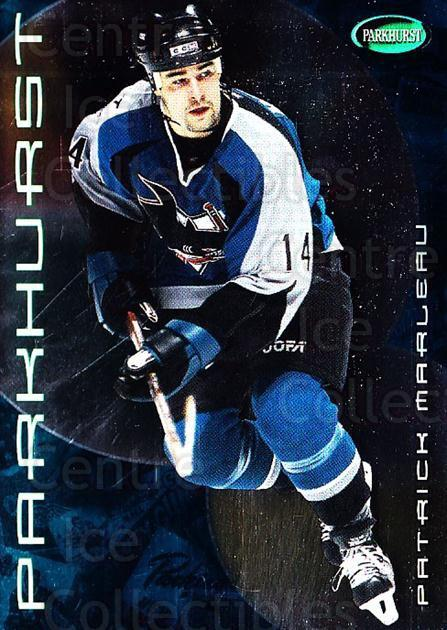 2001-02 Parkhurst #80 Patrick Marleau<br/>8 In Stock - $1.00 each - <a href=https://centericecollectibles.foxycart.com/cart?name=2001-02%20Parkhurst%20%2380%20Patrick%20Marleau...&quantity_max=8&price=$1.00&code=196823 class=foxycart> Buy it now! </a>