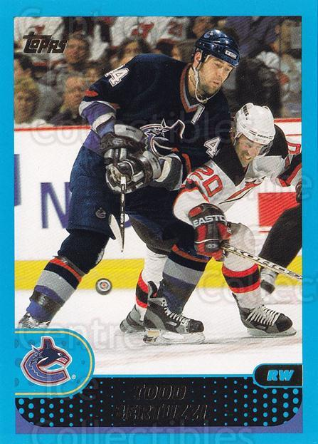 2001-02 Topps #178 Todd Bertuzzi<br/>9 In Stock - $1.00 each - <a href=https://centericecollectibles.foxycart.com/cart?name=2001-02%20Topps%20%23178%20Todd%20Bertuzzi...&quantity_max=9&price=$1.00&code=196864 class=foxycart> Buy it now! </a>