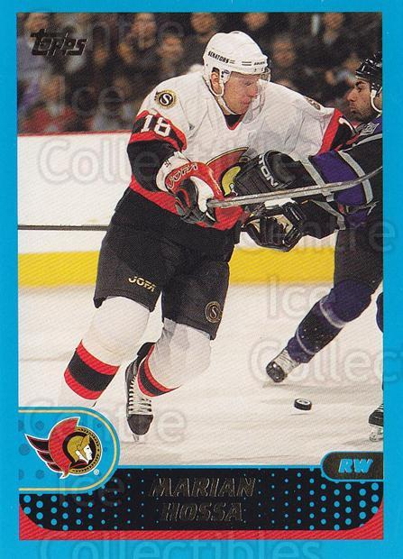 2001-02 Topps #29 Marian Hossa<br/>5 In Stock - $1.00 each - <a href=https://centericecollectibles.foxycart.com/cart?name=2001-02%20Topps%20%2329%20Marian%20Hossa...&quantity_max=5&price=$1.00&code=196981 class=foxycart> Buy it now! </a>