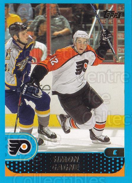 2001-02 Topps #65 Simon Gagne<br/>4 In Stock - $1.00 each - <a href=https://centericecollectibles.foxycart.com/cart?name=2001-02%20Topps%20%2365%20Simon%20Gagne...&quantity_max=4&price=$1.00&code=197058 class=foxycart> Buy it now! </a>