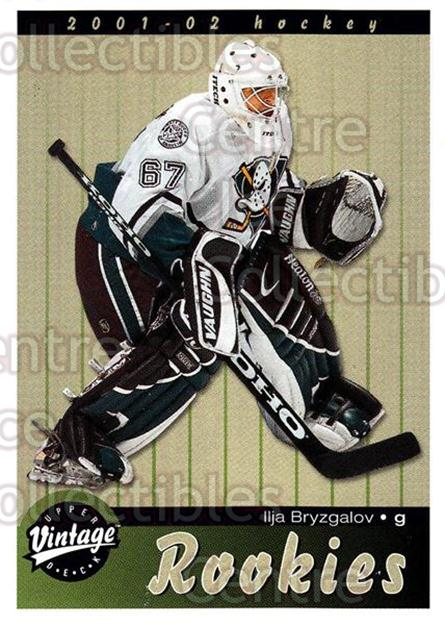 2001-02 UD Vintage #272 Ilya Bryzgalov<br/>1 In Stock - $2.00 each - <a href=https://centericecollectibles.foxycart.com/cart?name=2001-02%20UD%20Vintage%20%23272%20Ilya%20Bryzgalov...&quantity_max=1&price=$2.00&code=197303 class=foxycart> Buy it now! </a>