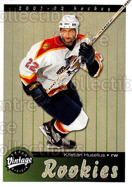 2001-02 UD Vintage #281 Kristian Huselius<br/>7 In Stock - $2.00 each - <a href=https://centericecollectibles.foxycart.com/cart?name=2001-02%20UD%20Vintage%20%23281%20Kristian%20Huseli...&quantity_max=7&price=$2.00&code=197310 class=foxycart> Buy it now! </a>