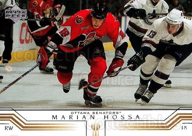 2001-02 Upper Deck #122 Marian Hossa<br/>7 In Stock - $1.00 each - <a href=https://centericecollectibles.foxycart.com/cart?name=2001-02%20Upper%20Deck%20%23122%20Marian%20Hossa...&quantity_max=7&price=$1.00&code=197427 class=foxycart> Buy it now! </a>
