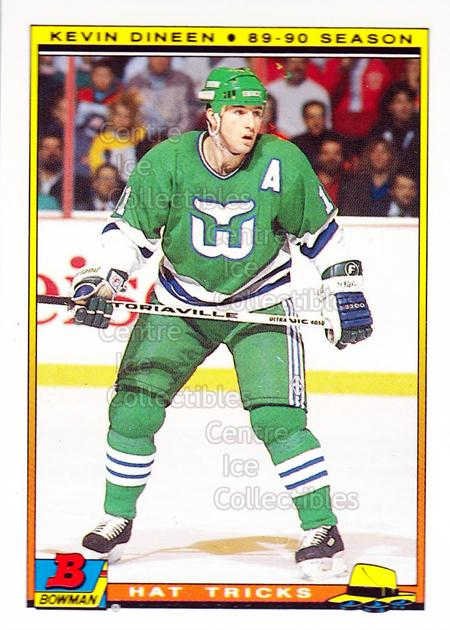1990-91 Bowman Hat Tricks Tiffany #7 Kevin Dineen<br/>10 In Stock - $2.00 each - <a href=https://centericecollectibles.foxycart.com/cart?name=1990-91%20Bowman%20Hat%20Tricks%20Tiffany%20%237%20Kevin%20Dineen...&quantity_max=10&price=$2.00&code=19749 class=foxycart> Buy it now! </a>