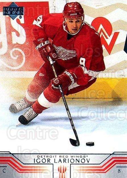 2001-02 Upper Deck #291 Igor Larionov<br/>4 In Stock - $1.00 each - <a href=https://centericecollectibles.foxycart.com/cart?name=2001-02%20Upper%20Deck%20%23291%20Igor%20Larionov...&quantity_max=4&price=$1.00&code=197571 class=foxycart> Buy it now! </a>
