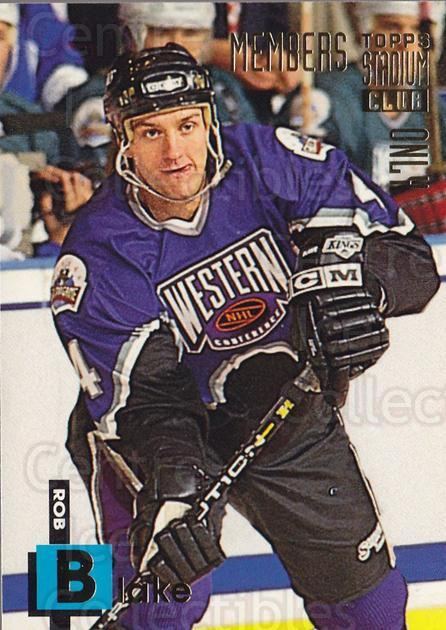 1994 Stadium Club Members Only #8 Rob Blake<br/>8 In Stock - $1.00 each - <a href=https://centericecollectibles.foxycart.com/cart?name=1994%20Stadium%20Club%20Members%20Only%20%238%20Rob%20Blake...&quantity_max=8&price=$1.00&code=1975 class=foxycart> Buy it now! </a>