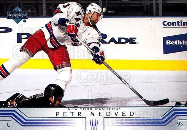 2001-02 Upper Deck #347 Petr Nedved<br/>6 In Stock - $1.00 each - <a href=https://centericecollectibles.foxycart.com/cart?name=2001-02%20Upper%20Deck%20%23347%20Petr%20Nedved...&quantity_max=6&price=$1.00&code=197632 class=foxycart> Buy it now! </a>