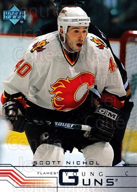 2001-02 Upper Deck #417H Scott Nichol<br/>1 In Stock - $5.00 each - <a href=https://centericecollectibles.foxycart.com/cart?name=2001-02%20Upper%20Deck%20%23417H%20Scott%20Nichol...&price=$5.00&code=197705 class=foxycart> Buy it now! </a>