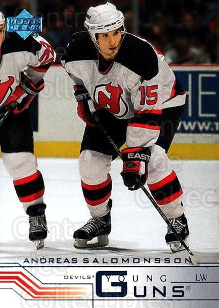 2001-02 Upper Deck #431H Andreas Salomonsson<br/>1 In Stock - $5.00 each - <a href=https://centericecollectibles.foxycart.com/cart?name=2001-02%20Upper%20Deck%20%23431H%20Andreas%20Salomon...&price=$5.00&code=197715 class=foxycart> Buy it now! </a>