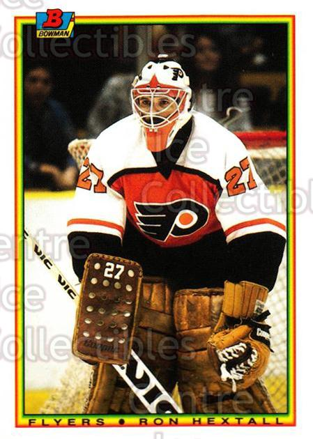 1990-91 Bowman Tiffany #105 Ron Hextall<br/>11 In Stock - $2.00 each - <a href=https://centericecollectibles.foxycart.com/cart?name=1990-91%20Bowman%20Tiffany%20%23105%20Ron%20Hextall...&quantity_max=11&price=$2.00&code=19776 class=foxycart> Buy it now! </a>