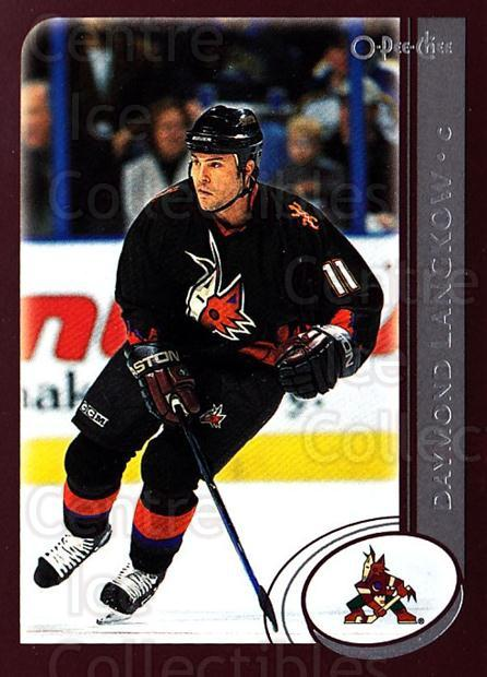 2002-03 O-Pee-Chee #244 Daymond Langkow<br/>6 In Stock - $1.00 each - <a href=https://centericecollectibles.foxycart.com/cart?name=2002-03%20O-Pee-Chee%20%23244%20Daymond%20Langkow...&quantity_max=6&price=$1.00&code=197957 class=foxycart> Buy it now! </a>