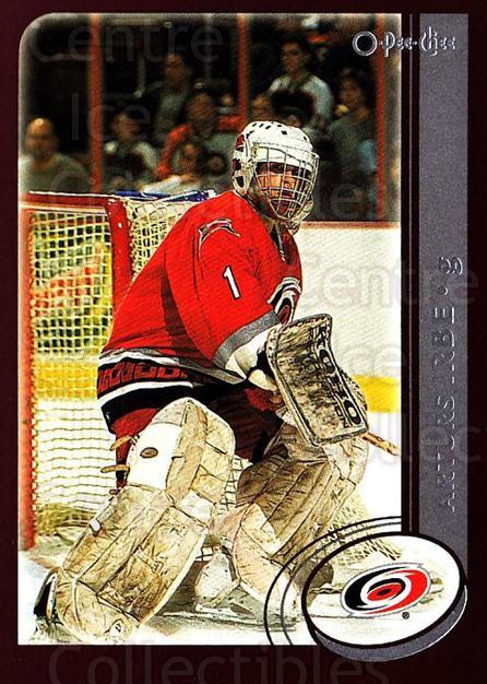 2002-03 O-Pee-Chee #254 Arturs Irbe<br/>5 In Stock - $1.00 each - <a href=https://centericecollectibles.foxycart.com/cart?name=2002-03%20O-Pee-Chee%20%23254%20Arturs%20Irbe...&quantity_max=5&price=$1.00&code=197967 class=foxycart> Buy it now! </a>