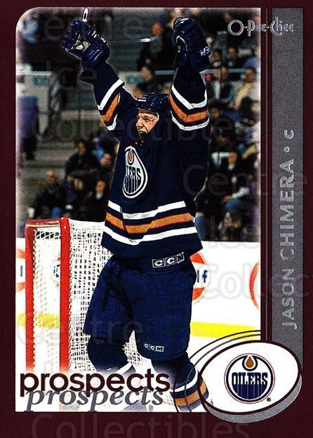 2002-03 O-Pee-Chee #267 Jason Chimera<br/>6 In Stock - $1.00 each - <a href=https://centericecollectibles.foxycart.com/cart?name=2002-03%20O-Pee-Chee%20%23267%20Jason%20Chimera...&quantity_max=6&price=$1.00&code=197980 class=foxycart> Buy it now! </a>