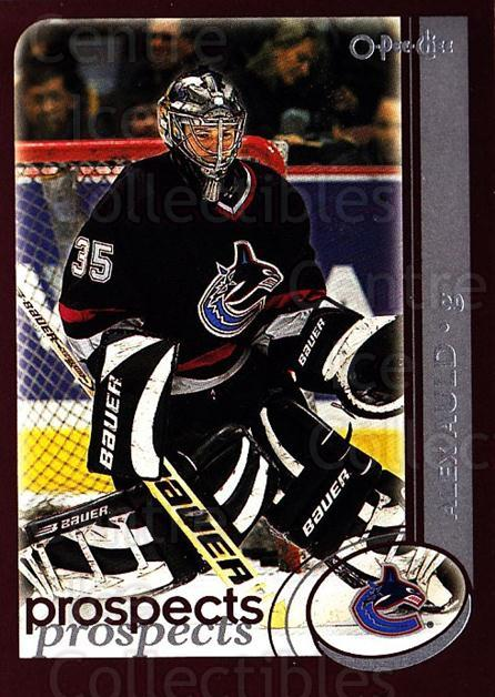 2002-03 O-Pee-Chee #271 Alex Auld<br/>4 In Stock - $1.00 each - <a href=https://centericecollectibles.foxycart.com/cart?name=2002-03%20O-Pee-Chee%20%23271%20Alex%20Auld...&quantity_max=4&price=$1.00&code=197984 class=foxycart> Buy it now! </a>
