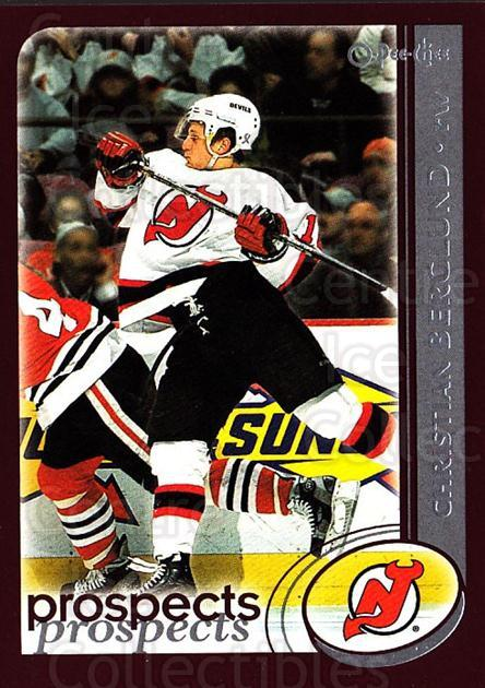 2002-03 O-Pee-Chee #282 Christian Berglund<br/>6 In Stock - $1.00 each - <a href=https://centericecollectibles.foxycart.com/cart?name=2002-03%20O-Pee-Chee%20%23282%20Christian%20Bergl...&quantity_max=6&price=$1.00&code=197994 class=foxycart> Buy it now! </a>