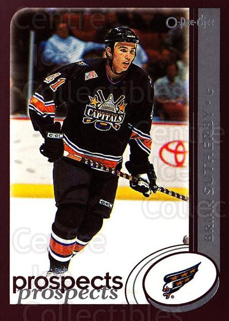 2002-03 O-Pee-Chee #291 Brian Sutherby<br/>6 In Stock - $1.00 each - <a href=https://centericecollectibles.foxycart.com/cart?name=2002-03%20O-Pee-Chee%20%23291%20Brian%20Sutherby...&quantity_max=6&price=$1.00&code=198001 class=foxycart> Buy it now! </a>