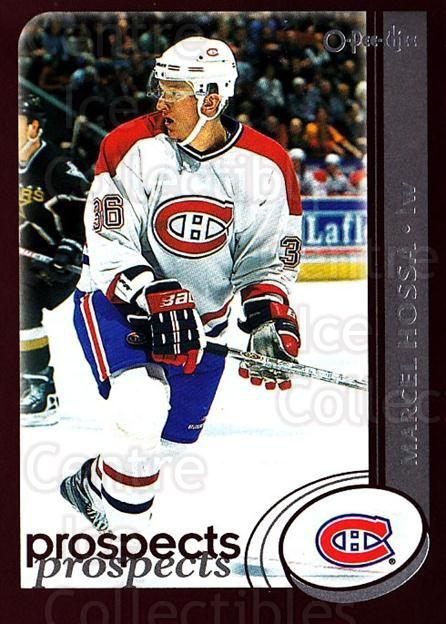 2002-03 O-Pee-Chee #296 Marcel Hossa<br/>6 In Stock - $1.00 each - <a href=https://centericecollectibles.foxycart.com/cart?name=2002-03%20O-Pee-Chee%20%23296%20Marcel%20Hossa...&quantity_max=6&price=$1.00&code=198005 class=foxycart> Buy it now! </a>