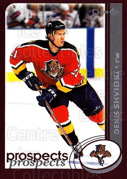 2002-03 O-Pee-Chee #304 Denis Shvidki<br/>4 In Stock - $1.00 each - <a href=https://centericecollectibles.foxycart.com/cart?name=2002-03%20O-Pee-Chee%20%23304%20Denis%20Shvidki...&quantity_max=4&price=$1.00&code=198014 class=foxycart> Buy it now! </a>