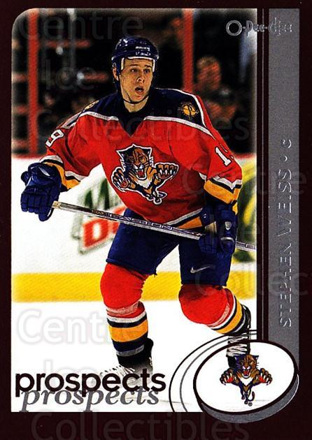 2002-03 O-Pee-Chee #305 Stephen Weiss<br/>6 In Stock - $1.00 each - <a href=https://centericecollectibles.foxycart.com/cart?name=2002-03%20O-Pee-Chee%20%23305%20Stephen%20Weiss...&quantity_max=6&price=$1.00&code=198015 class=foxycart> Buy it now! </a>