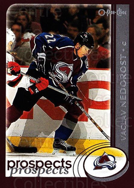 2002-03 O-Pee-Chee #307 Vaclav Nedorost<br/>2 In Stock - $1.00 each - <a href=https://centericecollectibles.foxycart.com/cart?name=2002-03%20O-Pee-Chee%20%23307%20Vaclav%20Nedorost...&quantity_max=2&price=$1.00&code=198017 class=foxycart> Buy it now! </a>
