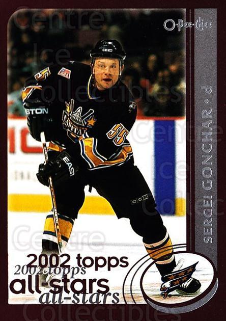 2002-03 O-Pee-Chee #321 Sergei Gonchar<br/>4 In Stock - $1.00 each - <a href=https://centericecollectibles.foxycart.com/cart?name=2002-03%20O-Pee-Chee%20%23321%20Sergei%20Gonchar...&quantity_max=4&price=$1.00&code=198033 class=foxycart> Buy it now! </a>