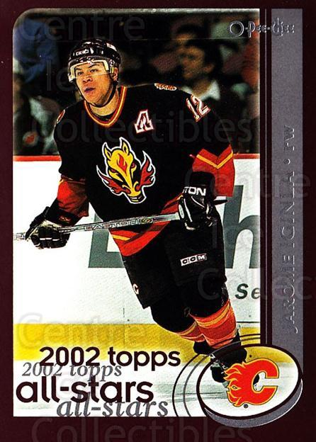 2002-03 O-Pee-Chee #328 Jarome Iginla<br/>1 In Stock - $1.00 each - <a href=https://centericecollectibles.foxycart.com/cart?name=2002-03%20O-Pee-Chee%20%23328%20Jarome%20Iginla...&quantity_max=1&price=$1.00&code=198039 class=foxycart> Buy it now! </a>