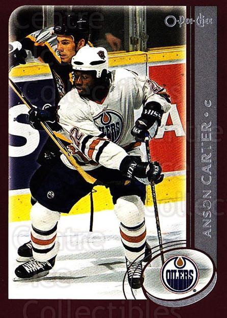 2002-03 O-Pee-Chee #33 Anson Carter<br/>6 In Stock - $1.00 each - <a href=https://centericecollectibles.foxycart.com/cart?name=2002-03%20O-Pee-Chee%20%2333%20Anson%20Carter...&quantity_max=6&price=$1.00&code=198041 class=foxycart> Buy it now! </a>