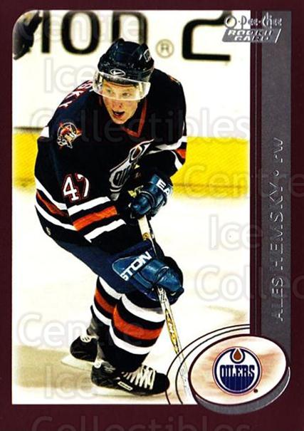 2002-03 O-Pee-Chee #337 Ales Hemsky<br/>10 In Stock - $2.00 each - <a href=https://centericecollectibles.foxycart.com/cart?name=2002-03%20O-Pee-Chee%20%23337%20Ales%20Hemsky...&quantity_max=10&price=$2.00&code=198044 class=foxycart> Buy it now! </a>