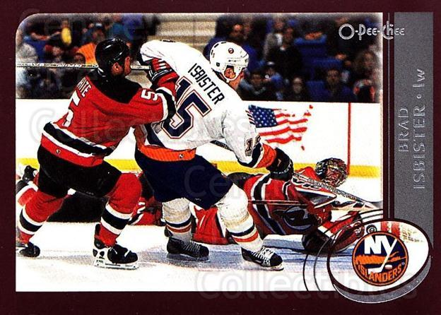 2002-03 O-Pee-Chee #35 Brad Isbister<br/>7 In Stock - $1.00 each - <a href=https://centericecollectibles.foxycart.com/cart?name=2002-03%20O-Pee-Chee%20%2335%20Brad%20Isbister...&quantity_max=7&price=$1.00&code=198048 class=foxycart> Buy it now! </a>