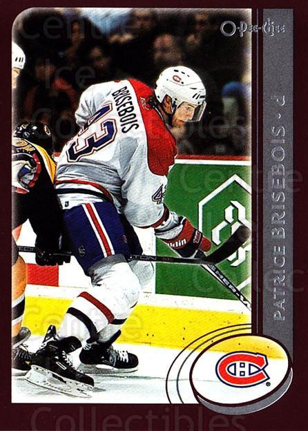 2002-03 O-Pee-Chee #41 Patrice Brisebois<br/>5 In Stock - $1.00 each - <a href=https://centericecollectibles.foxycart.com/cart?name=2002-03%20O-Pee-Chee%20%2341%20Patrice%20Brisebo...&quantity_max=5&price=$1.00&code=198054 class=foxycart> Buy it now! </a>