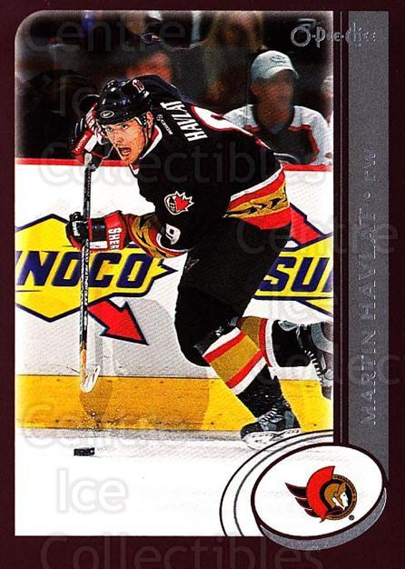 2002-03 O-Pee-Chee #49 Martin Havlat<br/>6 In Stock - $1.00 each - <a href=https://centericecollectibles.foxycart.com/cart?name=2002-03%20O-Pee-Chee%20%2349%20Martin%20Havlat...&quantity_max=6&price=$1.00&code=198061 class=foxycart> Buy it now! </a>