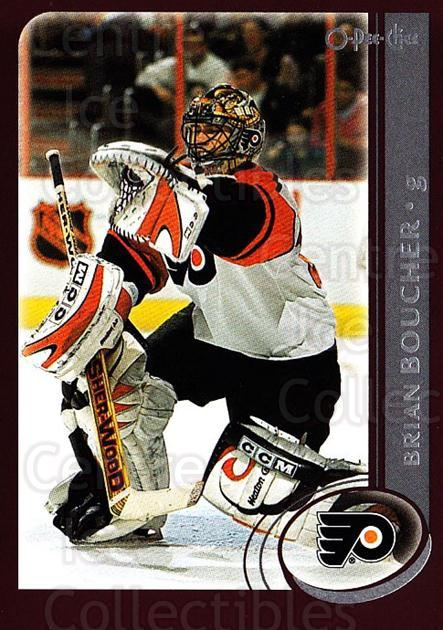 2002-03 O-Pee-Chee #55 Brian Boucher<br/>5 In Stock - $1.00 each - <a href=https://centericecollectibles.foxycart.com/cart?name=2002-03%20O-Pee-Chee%20%2355%20Brian%20Boucher...&quantity_max=5&price=$1.00&code=198068 class=foxycart> Buy it now! </a>