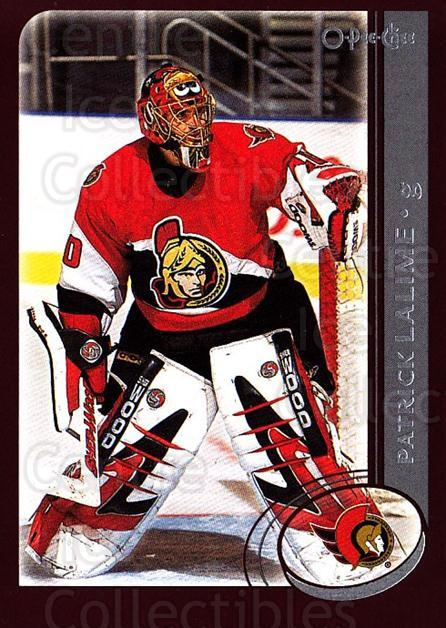 2002-03 O-Pee-Chee #61 Patrick Lalime<br/>5 In Stock - $1.00 each - <a href=https://centericecollectibles.foxycart.com/cart?name=2002-03%20O-Pee-Chee%20%2361%20Patrick%20Lalime...&quantity_max=5&price=$1.00&code=198075 class=foxycart> Buy it now! </a>