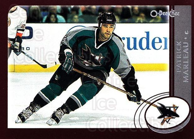 2002-03 O-Pee-Chee #63 Patrick Marleau<br/>6 In Stock - $1.00 each - <a href=https://centericecollectibles.foxycart.com/cart?name=2002-03%20O-Pee-Chee%20%2363%20Patrick%20Marleau...&quantity_max=6&price=$1.00&code=198077 class=foxycart> Buy it now! </a>