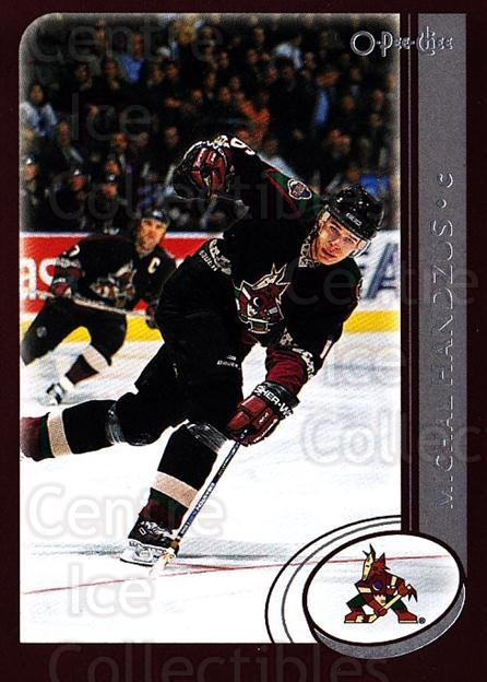 2002-03 O-Pee-Chee #69 Michal Handzus<br/>7 In Stock - $1.00 each - <a href=https://centericecollectibles.foxycart.com/cart?name=2002-03%20O-Pee-Chee%20%2369%20Michal%20Handzus...&quantity_max=7&price=$1.00&code=198083 class=foxycart> Buy it now! </a>