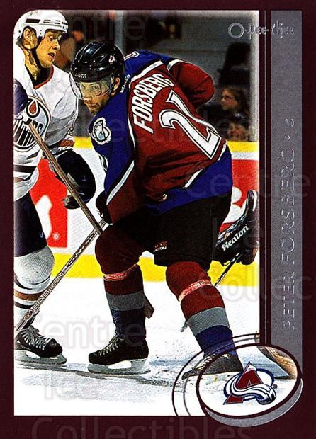 2002-03 O-Pee-Chee #71 Peter Forsberg<br/>2 In Stock - $1.00 each - <a href=https://centericecollectibles.foxycart.com/cart?name=2002-03%20O-Pee-Chee%20%2371%20Peter%20Forsberg...&quantity_max=2&price=$1.00&code=198086 class=foxycart> Buy it now! </a>