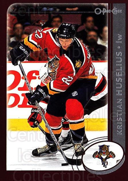 2002-03 O-Pee-Chee #86 Kristian Huselius<br/>5 In Stock - $1.00 each - <a href=https://centericecollectibles.foxycart.com/cart?name=2002-03%20O-Pee-Chee%20%2386%20Kristian%20Huseli...&quantity_max=5&price=$1.00&code=198102 class=foxycart> Buy it now! </a>