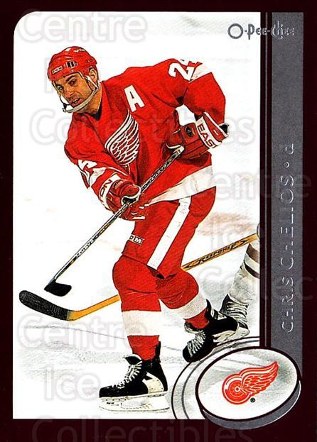 2002-03 O-Pee-Chee #90 Chris Chelios<br/>5 In Stock - $1.00 each - <a href=https://centericecollectibles.foxycart.com/cart?name=2002-03%20O-Pee-Chee%20%2390%20Chris%20Chelios...&quantity_max=5&price=$1.00&code=198107 class=foxycart> Buy it now! </a>