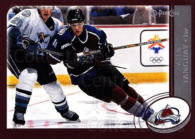 2002-03 O-Pee-Chee #95 Alex Tanguay<br/>4 In Stock - $1.00 each - <a href=https://centericecollectibles.foxycart.com/cart?name=2002-03%20O-Pee-Chee%20%2395%20Alex%20Tanguay...&quantity_max=4&price=$1.00&code=198111 class=foxycart> Buy it now! </a>