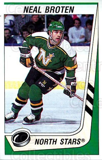 1989-90 Panini Stickers #107 Neal Broten<br/>3 In Stock - $1.00 each - <a href=https://centericecollectibles.foxycart.com/cart?name=1989-90%20Panini%20Stickers%20%23107%20Neal%20Broten...&quantity_max=3&price=$1.00&code=19885 class=foxycart> Buy it now! </a>